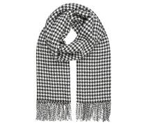 Schal - schwarz/weiß