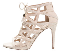 CARMEN High Heel Sandaletten taupe/beige