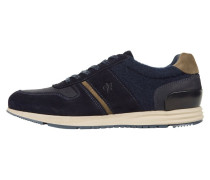 Sneaker low dark blue/khaki