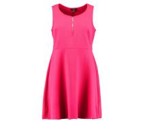 SKATER - Jerseykleid - bright pink