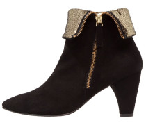 CLAIRE Ankle Boot black/gold
