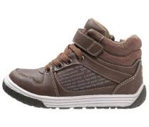 Sneaker high brown/orange
