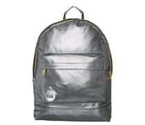 MiPac PEBBLED Tagesrucksack silver/black