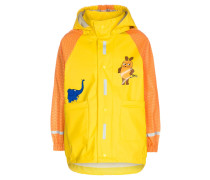 DIE MAUS Regenjacke / wasserabweisende Jacke yellow