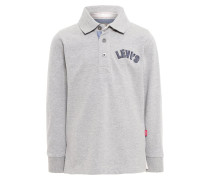 ZIMMER Poloshirt gris chine