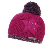 ROTE SPITZE Mütze pink