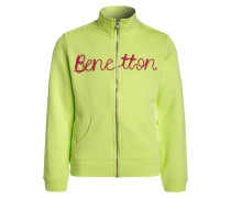 Sweatjacke light green