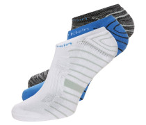 3 PACK Socken french blue/black/grey heather/white