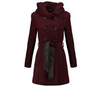 Wollmantel / klassischer Mantel syrah