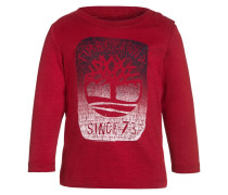 Langarmshirt team red