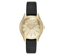 Uhr schwarz