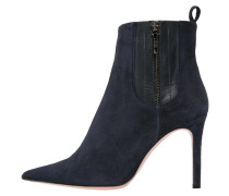 SOLE High Heel Stiefelette navy