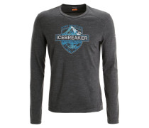 OASIS Langarmshirt jet heather/alpine
