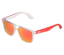 Sonnenbrille - crystal/red