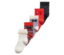 5 PACK Socken offwhite