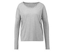 FELICIA Langarmshirt medium grey melange
