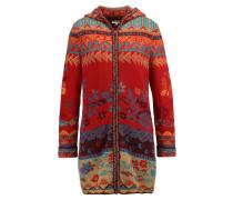 Wollmantel / klassischer Mantel kirsche