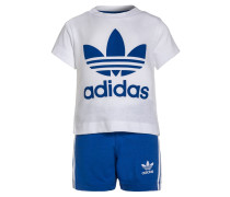 SET - Jogginghose - white/blue