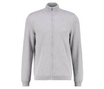 CASTOR REGULAR FIT - Strickjacke - mottled grey