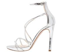 High Heel Sandaletten - argento