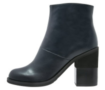 High Heel Stiefelette blue