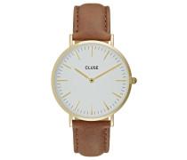 LA BOHÈME - Uhr - gold-coloured/white/brown