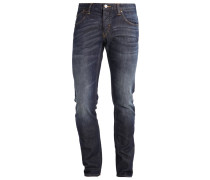 Jeans Straight Leg denim indaco