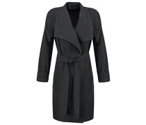 Wollmantel / klassischer Mantel schwarz