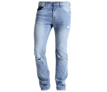 AEDAN - Jeans Slim Fit - destroyed light stone wash