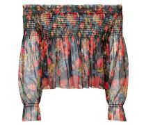 PINS & NEEDLES FLORAL - Bluse - black