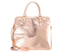 Shopping Bag champagne copper croco