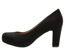 Plateaupumps black