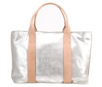 TASMIN BELLA Shopping Bag argent métallisé