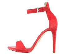 High Heel Sandaletten rouge