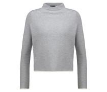 Strickpullover light grey