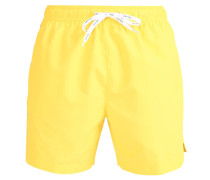 Badeshorts - yellow