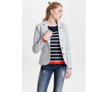 Blazer light grey melange