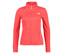 TANKEN - Fleecejacke - cayenne red
