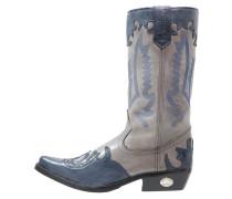Cowboy/ Bikerboot montana azul/gris