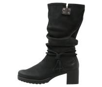 Stiefel schwarz/grau