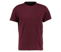 TShirt print burgundy