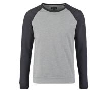 Sweatshirt mottled grey/black