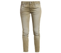TOUCH SLIM - Jeans Slim Fit - moss
