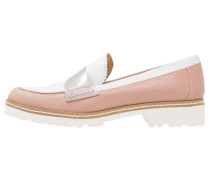 DELY - Slipper - ginger/rubor/blanco/nude