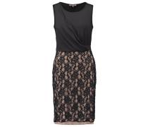 Jerseykleid black/rose