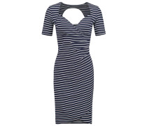 LAURA Jerseykleid marine stripes