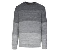 KASPAR Strickpullover medium grey melange
