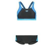 DROM - Bikini - black/turquoise/pix blue