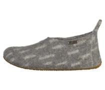Hausschuh grey