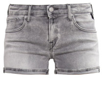 Jeans Shorts - grey denim